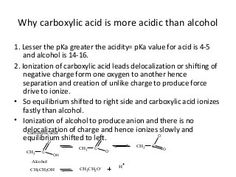 Carboxylic acid Oxalic Acid, Acetic Acid, Sodium Hydroxide, Sodium Bicarbonate, Hydrogen Bond, Functional Group