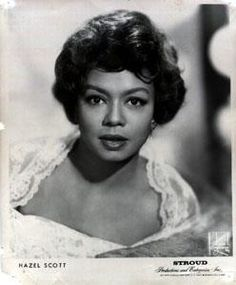theresa harris actress   Photo: Hazel Scott throughout the 1930s and 40s, performed jazz, blues ...