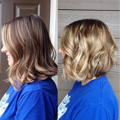 Still one of my very favorite before and after transformations to date! Balayage…