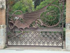 Gaudi Gate Barcelona