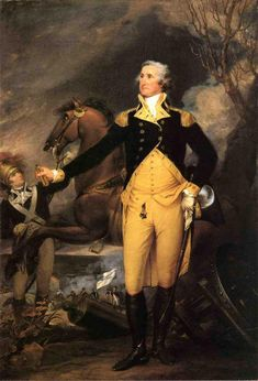 George Washington (1732-99) was commander in chief of the Continental Army during the American Revolutionary War (1775-83).