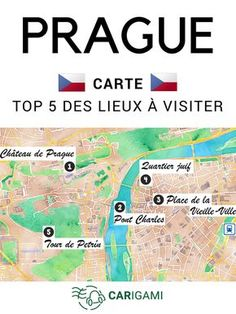 Quels sont les 5 lieux incontournables de Prague ? Voici notre TOP 5, immanquables de la ville d'or. #Prague #Tchéquie #Républiquetchèque Prague Map, Prague Old Town, Prague Travel, Prague Castle, Prague Food, Prague Nightlife, Prague Restaurants, Prague Hotels, Nightlife Travel