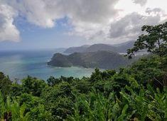 Trinidad, Trinidad and Tobago. Maracas lookout vacation view. Flights+Barrels Travel Photography.