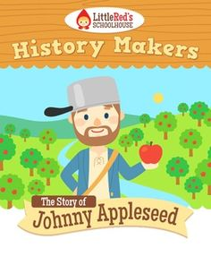 Johnny Appleseed is the first in our History Makers series! 12 pages not including the answer key! Here is what you will get in this packet - P. Teaching Social Studies, Teaching History, Teaching Resources, Teaching Ideas, Homeschool Kindergarten, Preschool At Home, Homeschooling, Apple Activities, Educational Activities
