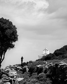 """Visiting a monasteri in Andros island with a group of photographer that we are taking pictures to promote the island. The project called """"my andros"""""""