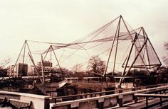 architect cedric price - Google Search Rem Koolhaas, Cedric Price, Zoo Architecture, Tensile Structures, Urban Intervention, Bird Aviary, Small Buildings, Design Museum, Archetypes
