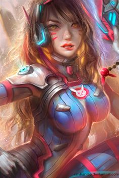 D.Va by Enshanlee.deviantart.com on @DeviantArt - More at
