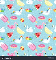 Summer Pool, Pool Fun, Pool Floats, Cool Pools, Cartoon Styles, Royalty Free Stock Photos, Great Gifts, Doodles, Kids Rugs