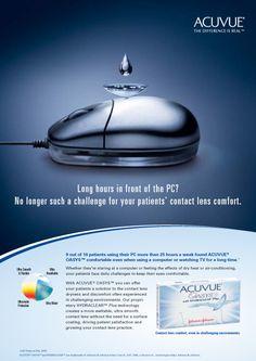Acuvue Internationale B2B-Kampagnen