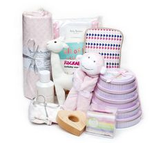 We love all the items in this #baby #gift set- perfect for the expectant parents in your life.
