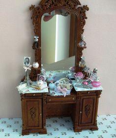 Dollhouse Miniature Bedroom Furniture Bespaq by worldinminiatureuk, £120.00