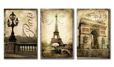 PR_Xl10_Cuadro Paris Vintage 01                                                                                                                                                                                 Más