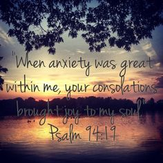 Thank you Jesus for your everlasting comfort and love