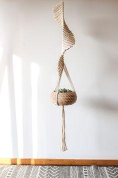[해외인테리어자료] Macrame 마크라메 행잉플랜트, 식물로 포인트 주기! : 네이버 블로그