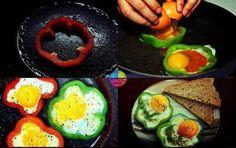 pomysłowy sposób na jajecznicę