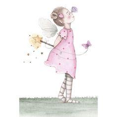 Fancy Fonts, Baby Scrapbook, Fairy Art, Tooth Fairy, Baby Decor, Faeries, Iphone Wallpaper, Decoupage, Illustration Art