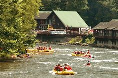 Whitewater Rafting, Nantahala River, Bryson City, North Carolina, USA