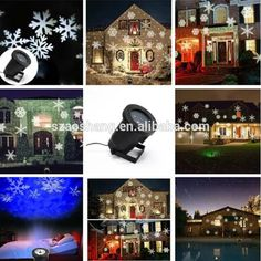 Us Eu Uk Led Outdoor Waterproof Laser Stage Light Xmas Projector Christmas Decorations
