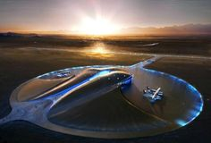 Spaceport America and 9 other futuristic architecture concepts.