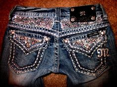 "I would never wear these.  I love my sparkles. Don't get me wrong but if I wore these I''d be all like ""STOP LOOKIN AT MA BUTT YO!"""