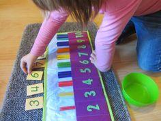 Dos Princeses - Aprendre amb Montessori: Enrotllable - Caixa dels fusos