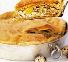 Buoni sapori di Liguria, le flagranti sfoglie della torta pasqualina con i carciofi.