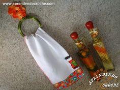 Suporte de Croche para Panos de Prato - Aprendendo Crochê (+playlist)