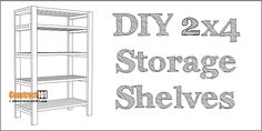 shed plans, with gable roof. Plans include drawings, measurements, shopping list, and cutting list. Build your own storage with Diy 2x4 Storage Shelves, Diy Storage Shed Plans, Workbench Plans Diy, Woodworking Bench Plans, Sawhorse Plans, Shed Plans 12x16, Lean To Shed Plans, Shed Building Plans, Coop Plans