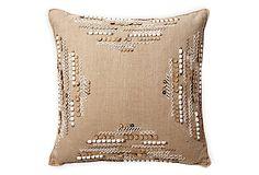 LILLIAN AUGUST -- Healey 21x21 Pillow -- 400.00 retail