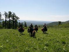 Конный тур  Horse tour South Ural