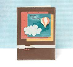 """Enjoy the Day"" card idea from #CTMH."