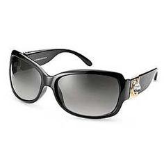 Alyson Gold/Black Sun glasses, Dyrberg/Kern #dyrbergkern #fashion #sunglasses #royaldesign #design