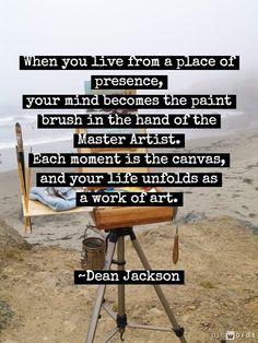 Work of Art ~ Dean Jackson