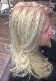 Blonde ombré & highlights