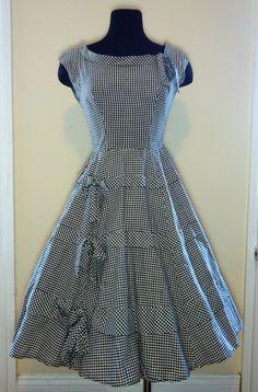 gingham dress - adorable!