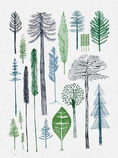 Bosque by María Montiel