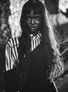Vogue Australia August 2017 Duckie Thot by Nicole Bentley - Fashion Editorials