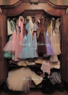 Pretty dresses, pretty petticoats, pretty wardrobes...
