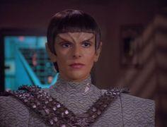 Romulan, actually Deanna Troi as a Romulan.
