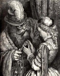 Gustave Dore, bluebeard