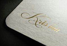 Kris Lau Logo Concept Demo3
