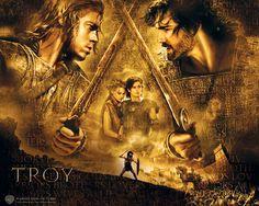 Troy, 2004, Brad Pitt, Diane Kruger, Orlando Bloom