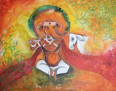 Ganesha, Flöte