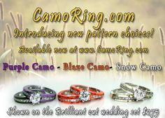all the colors of our camo rings camo rings and wedding bands pinterest camo ring and wedding - Orange Camo Wedding Rings