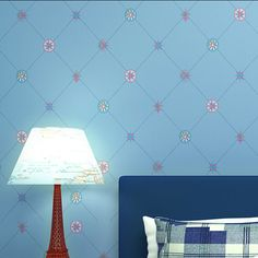 papel parede- 2015 Fashion Grid Pattern Non-woven Home Decor Wallpaper Lovely Wallpaper Ecofriendly Papel de Parede Mural Wall D