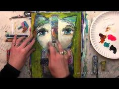 Happy Painting - A Mini Course with #JulietteCrane ~ Watch on YouTube