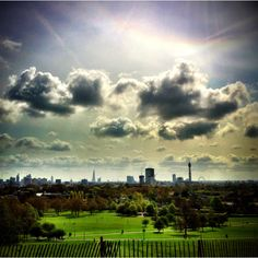 Springlight at Primrose Hill - London via @Markus Maurer