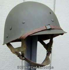 WWII M-1C M2 Airborne Helmet Liner Paratrooper CAPAC-Westinghouse