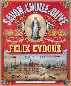 Anuncio de jabón Felix Eydoux