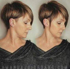 Shaved, Short Straight Haircuts - Women Hairstyle Ideas